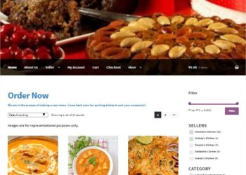myfoodspread - woocommerce website